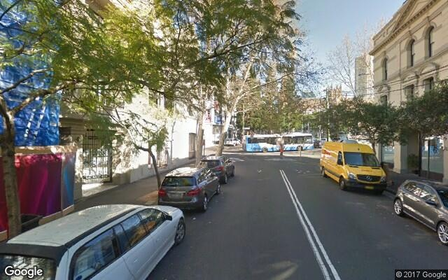 parking on Cathedral Street in Woolloomooloo