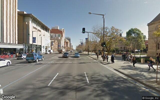 parking on Charles Street in Adelaide