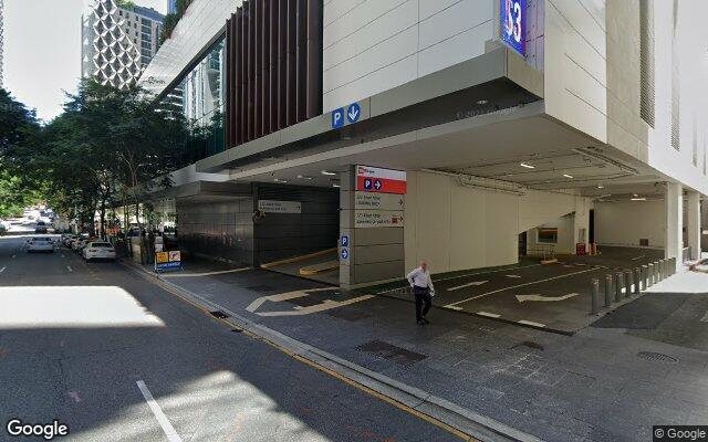 Secure underground parking in Charlotte Street