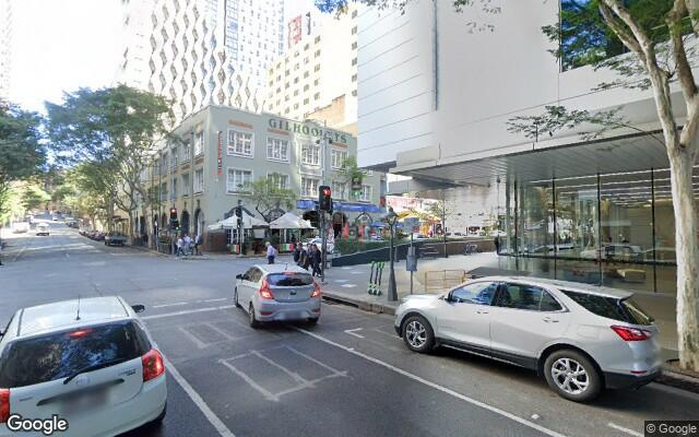 parking on Charlotte Street in Brisbane City