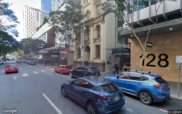 parking on Charlotte Street in Brisbane City Queensland