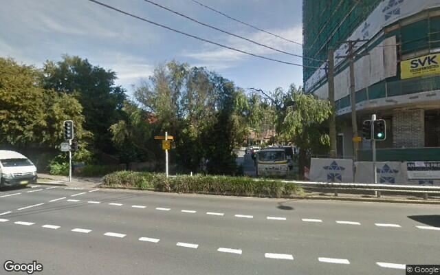 parking on Churchill Avenue in Strathfield NSW
