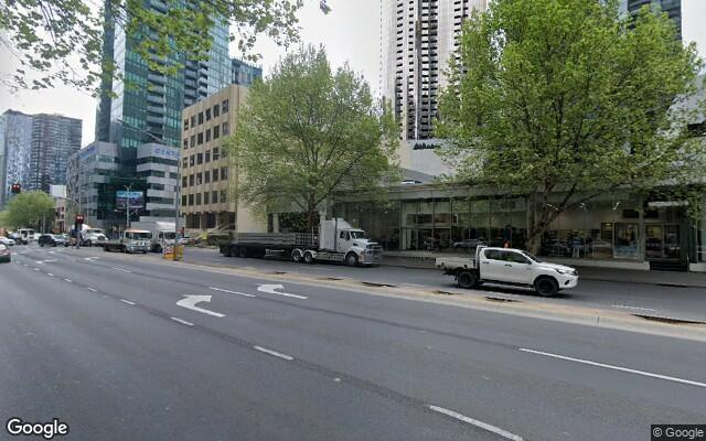 parking on City Road in Southbank Victoria