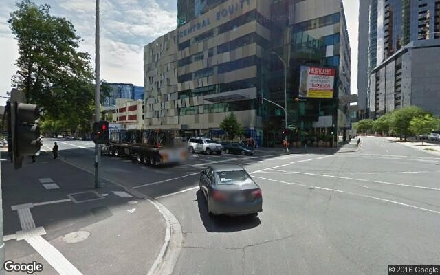 parking on City Road in Southbank