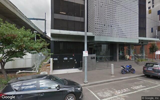 parking on Clarke Street in Southbank