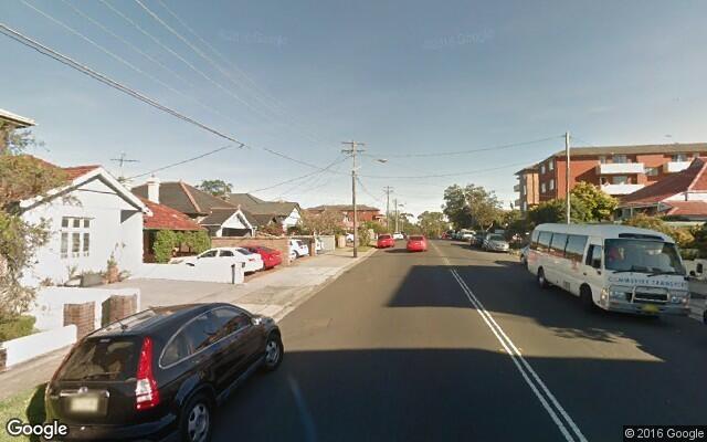 parking on Clovelly Road in Randwick