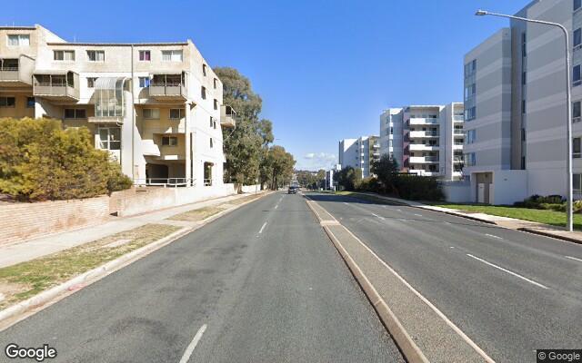 parking on College Street in Belconnen Australian Capital Territory
