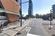 parking on Collins St in Docklands