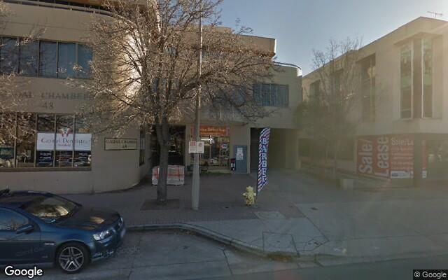 parking on Corinna Street in Phillip ACT