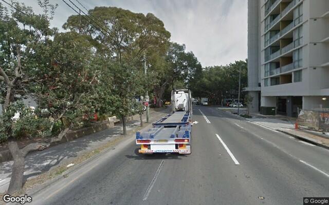 parking on Coward Street in Mascot