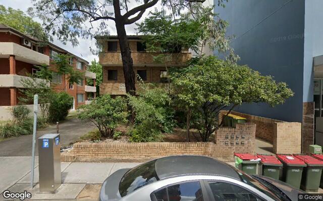parking on Cowper Street in Parramatta New South Wales