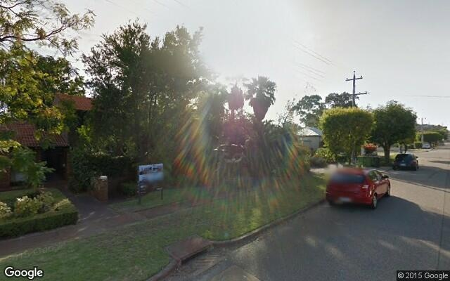 parking on Crawford Rd in Maylands