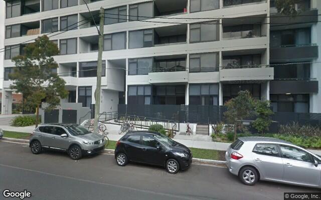 parking on Dalmeny Ave in Rosebery