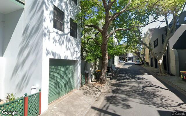 parking on Davies Street in Surry Hills New South Wales