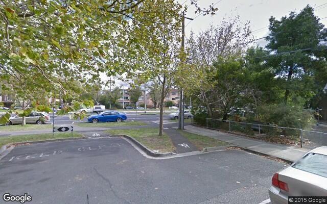 parking on Dickens Street in Saint Kilda
