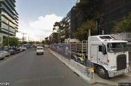 parking on Dorcas St in South Melbourne