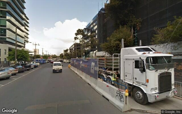 parking on Dorcas St in South Melbourne VIC 3205