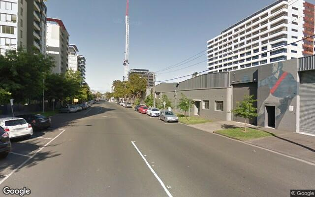 parking on Dorcas Street in Southbank VIC