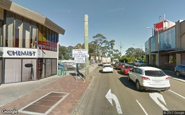 parking on Edgeworth David Avenue in Hornsby