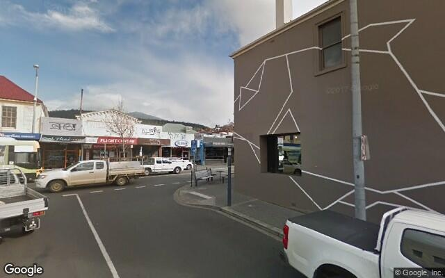 parking on Elizabeth Street in North Hobart