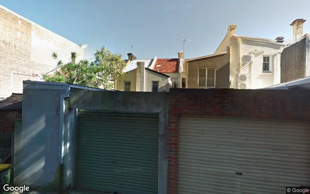 parking on Elizabeth Street in Redfern