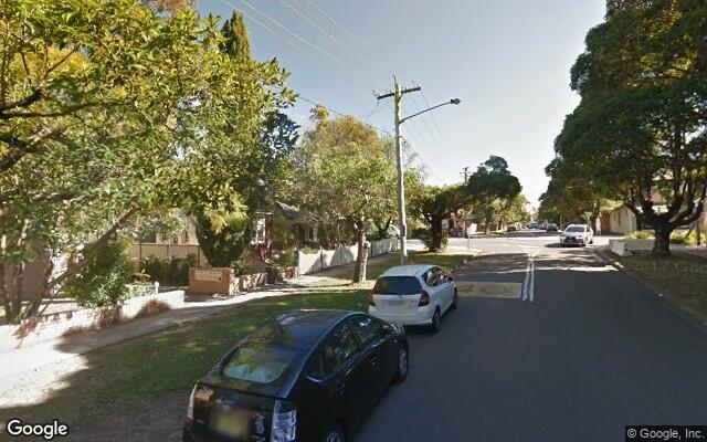 parking on Exeter Rd in Homebush West NSW 2140