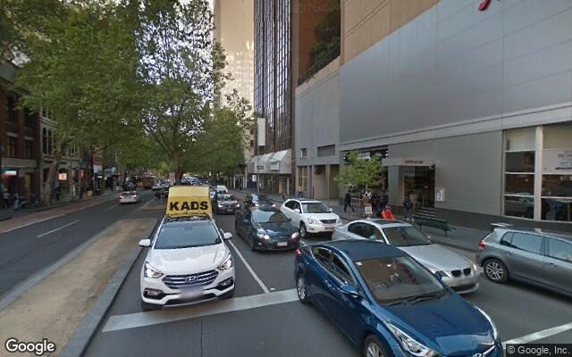 Great parking on Exhibition Street Melbourne