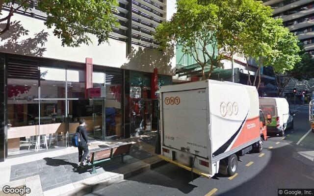parking on Felix Street in Brisbane City