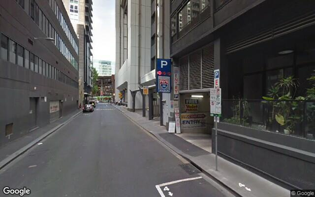 parking on Francis Street in Docklands VIC