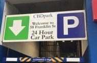 parking on Franklin St in Melbourne