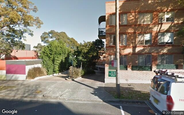 Parking space in George St, Redfern