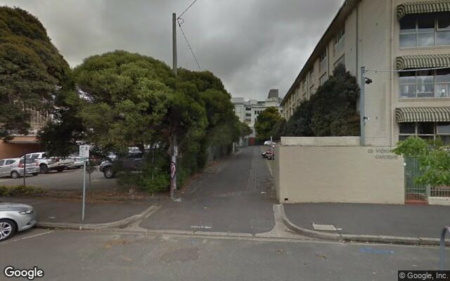parking on George Street in Fitzroy
