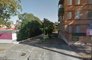 parking on George Street in Redfern NSW