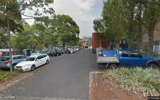 parking on George Street in Redfern NSW
