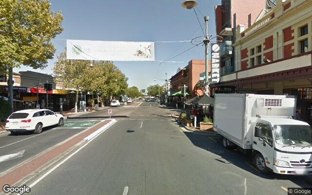 parking on Gouger St in Adelaide
