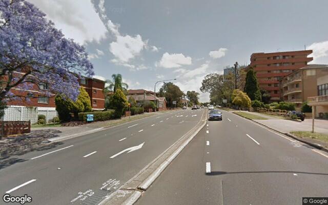 parking on Great Western Hwy in Parramatta NSW 2150