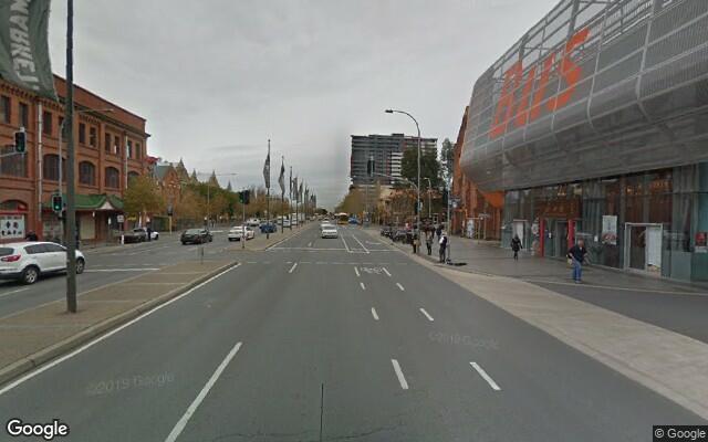 parking on Grote Street in Adelaide