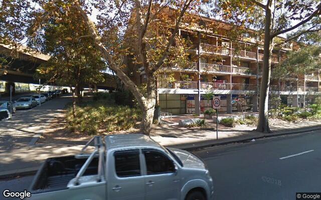 parking on Harris Street in Pyrmont NSW