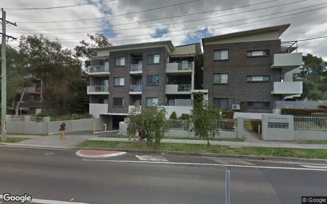 parking on Hassal Street in Westmead New South Wales