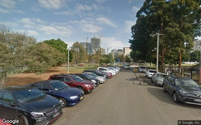 parking on Hassall Street in Parramatta NSW