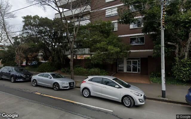 parking on Heather Street in South Melbourne Victoria