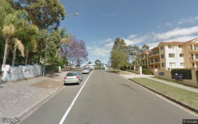 parking on Hill Street in Baulkham Hills
