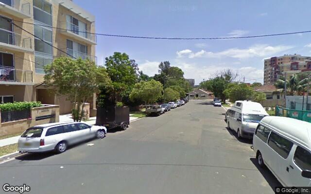 parking on Hilts Rd in Strathfield