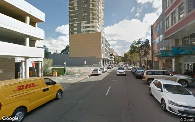 parking on Hunter Street in Parramatta New South Wales