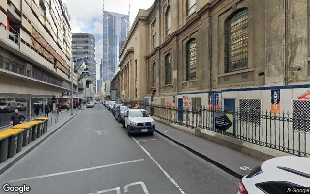 parking on Jane Bell Lane in Melbourne