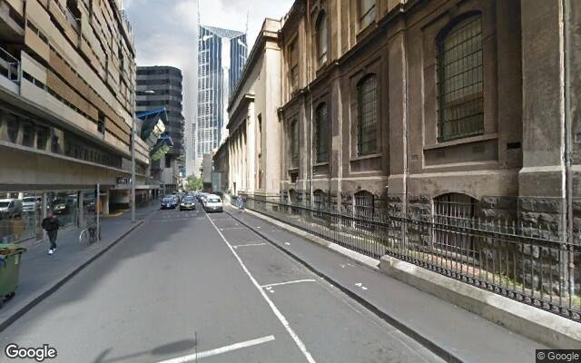 parking on Jane Bell Lane in Melbourne