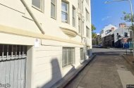 parking on Kellett Place in Potts Point New South Wales