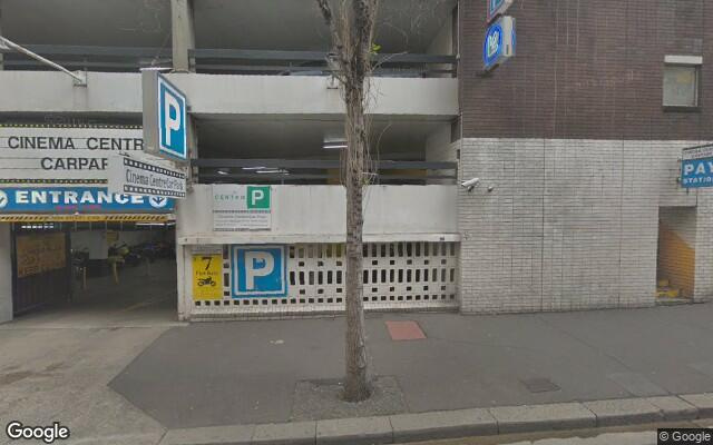 parking on Kent Street in Sydney Central Business District New South Wales