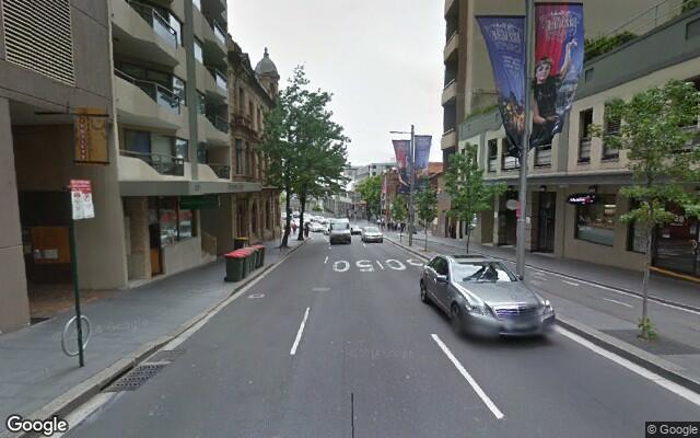 parking on King St in Sydney