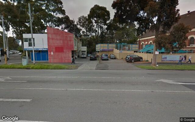 parking on Kings Way in South Melbourne